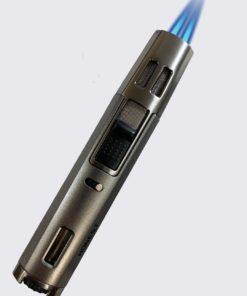 Honest 2-Torch Pen Lighter Gun Metal